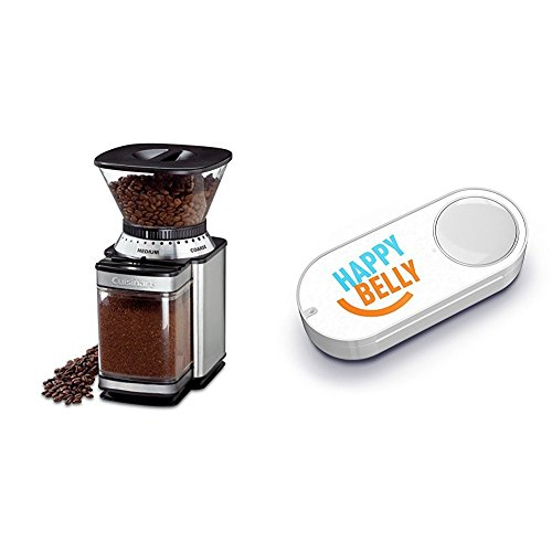 Cuisinart DBM-8 Supreme Grind Automatic Burr Mill & Happy Belly Dash Button by