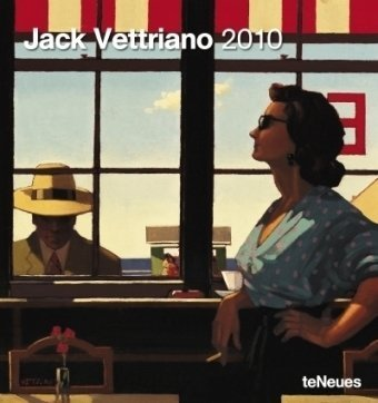 Jack Vettriano 2010. Kunstkalender
