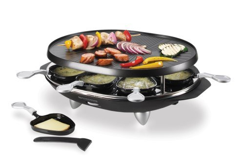 Swissmar KF-77066 Matterhorm 8-Person Raclette, Black for sale  Delivered anywhere in Canada