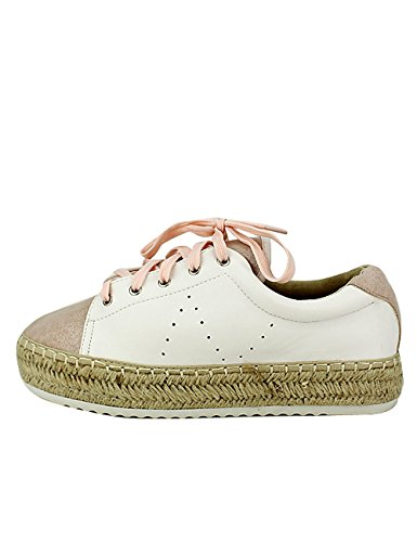 Baskets SPADRIL Cendriyon Femme Blanche Chaussures RnYqdwv