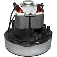 "LAMB MOTOR 1 STAGE FLOW THRU 4.8"" DIAMETER 5"" TALL 120 VOLT THERMAL 12 AMPS HOOVER CENTRAL 59644112 SH80005 SH80015 SH80520 MAY NEED MOTOR MOUNT KIT 59644124 IF THE ORIGINAL MOTOR ISN'T 59644112 122167-00"