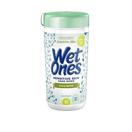 Wet Ones Extra Gentle Sensitive Skin Wipes 480ct (12 x 40ct)