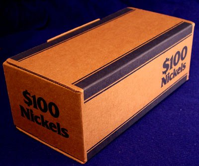 MMF240140508 - MMF Corrugated Cardboard Coin Transport Box (Corrugated Cardboard Coin)