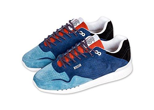 DjinnsEasyrun Full Effect Sneaker - Zapatillas de casa Hombre black/hibiscus/turquoise