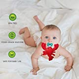 Infant Soothie Snuggle Pacifier with Detachable