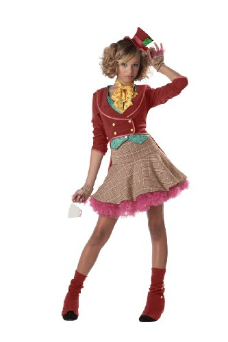 Home Halloween Costumes Teenagers (California Costumes The Mad Hatter Costume,Multi,Teen (11-13))