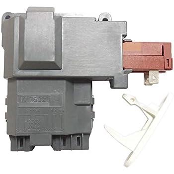 Amazon.com: Frigidaire 131763202 Washer Door Lock embly ... on