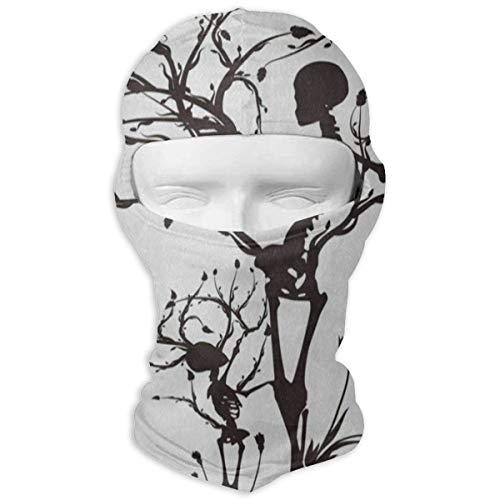 Balaclava Conceptual Tree of Life Sugar Skull Full Face Masks Ski Motorcycle Neck Hood Cycling