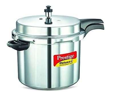 Prestige Deluxe Plus Aluminum Pressure Cooker by Prestige