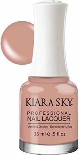 Kiara Sky Nail Lacquer, Bare With Me, 15 Gram