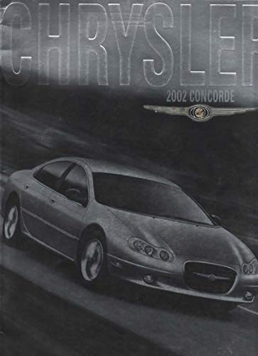 """Sales Brochure for 2002 Chrysler Concorde, """"This is Concorde. Drive=Love"""""""