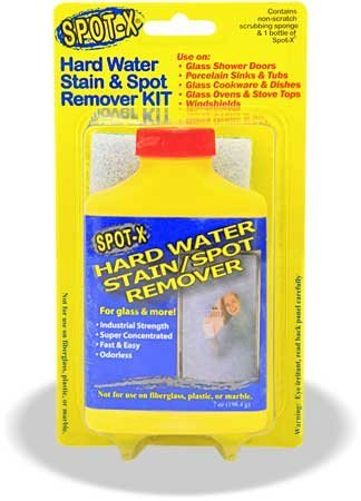 spot x hard water stain spot remover ebay. Black Bedroom Furniture Sets. Home Design Ideas