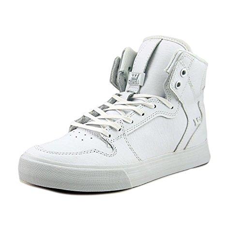 Supra Vaider Skate Shoe White - White-m