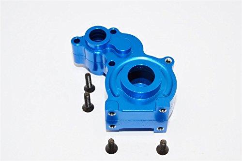 - Axial SCX10 Upgrade Parts Aluminum Center Transmission Case - 3Pcs Set Blue