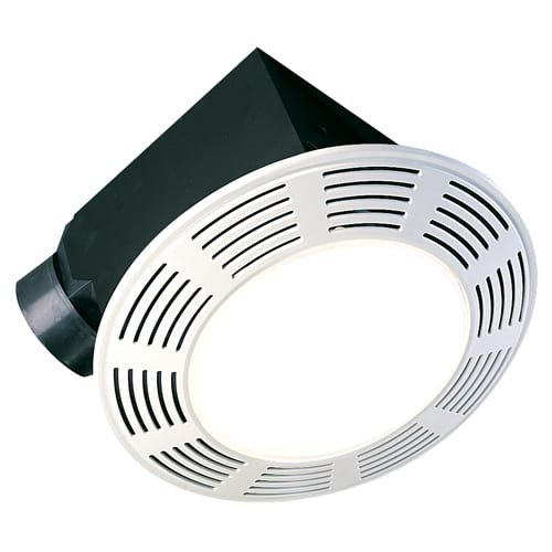 Air King AK864L Deluxe Round Bath Fan with Light