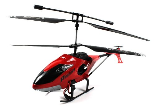 Rapid Raptor 59 Electric RC Helicopter GYRO Gyroscope 3.5 Channel LED Ready To Fly RTF (Colors May Vary)