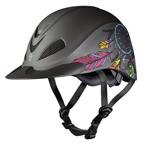 Horse Riding Helmet - Troxel Rebel Performance Helmet, Dreamcatcher, Medium