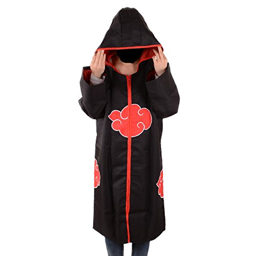 Naruto Akatsuki Organization Members Cloak Ninja Robe Hooded