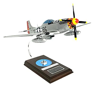 """Mastercraft Collection P-51D Mustang """"Old Crow"""" Model Scale"""