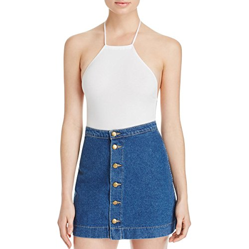American apparel halter bodysuit