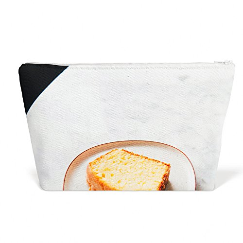 Westlake Art - Cake Lemon - Pen Pencil Marker Accessory Case - Picture Photography Office School Pouch Holder Storage Organizer - 125x85 inch (Pottery Custard)