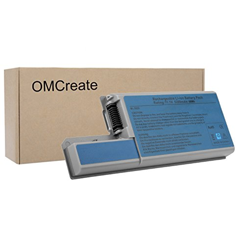 OMCreate Laptop Battery for Dell Latitude D830 D820 D531, Dell Precision M4300 M65, fits P/N CF623 DF192 FF232 MM165- 12 Months Warranty