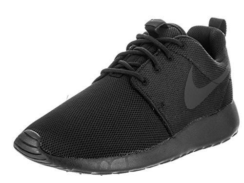 (Nike Women's Roshe One Black/Black/Dark Grey Running Shoe 8.5 Women US)