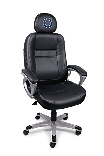 NFL Indianapolis Colts Leather Office Chair (Indianapolis Colts Nfl Desk)
