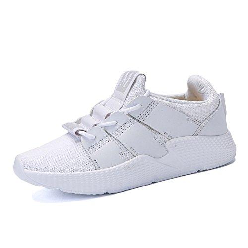 Señoras Zapatos De Senderismo Mujeres A Prueba De Agua para Caminar Zapatos Zapatos Deportivos Zapatos Casuales Al Aire Libre Blanco