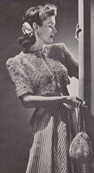 Bonbon Bolero Shrug Sweater with Bag Purse Crochet Pattern by [Charlie