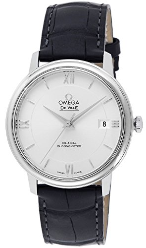 Watch Automatic Wrist Omega (Omega DeVille 424.13.40.20.02.001 Stainless Steel Automatic Men's Watch)
