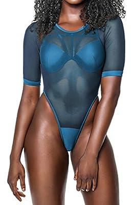 Viottis Women's Mesh Spicy Bandage Push Up Strap 2pcs Swimsuit Bathing Suit