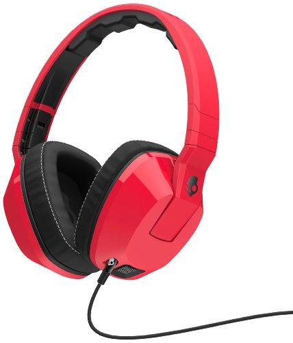 Skullcandy Crusher Red/Black | Over Ear Headphones w/ Amp &