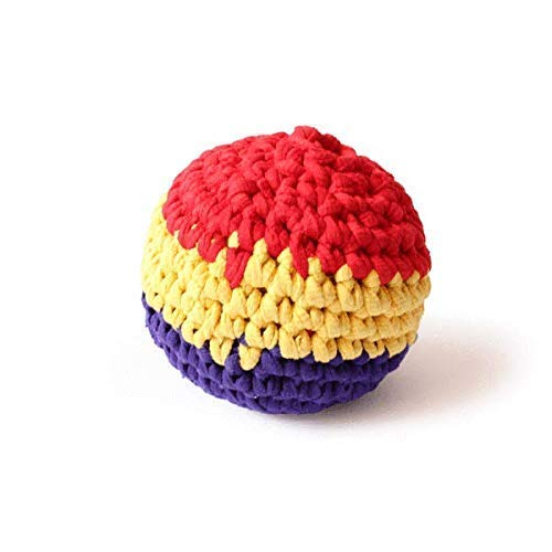 Shumee Hand-Knitted Crochet Ball - 1 Piece| Washable Soft Squishy Chew Toy for Infants and Babies| 100% Safe, Natural & Eco-Friendly|0 Years+ ()