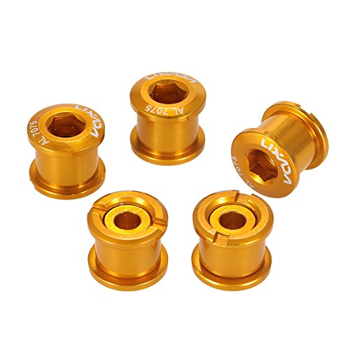 Double Alloy Chainring Bolts - 5