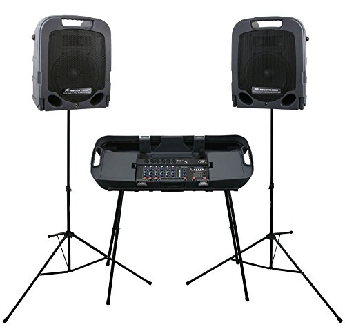 Peavey Escort 3000 - 300W 7-Channel, Two-Way Speaker System with 10-Inch Woofer by Peavey