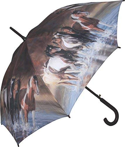 River's Edge Products 45inch Full Size Horse Umbrella [並行輸入品]
