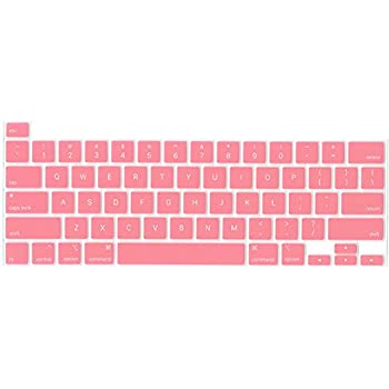 Waterproof Dust-Proof Protective Silicone Skin EU Layout Black MOSISO Keyboard Cover Compatible with MacBook Pro 16 inch 2019 Release A2141 with Touch Bar /& Touch ID /& Retina Display