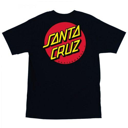 Santa Cruz Classic Dot Regular T-Shirt 3X-Large Black