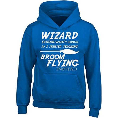 Prints Express Wizard School Wasn039;t Hiring So I Started Teaching Broom - Adult Hoodie -