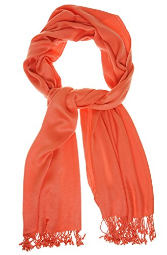 jones-new-york-womens-solid-fringe-scarf-salmon-sun