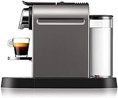 Nespresso CitiZ por Krups XN720T40 Cafetera - Titanium: Amazon.es ...