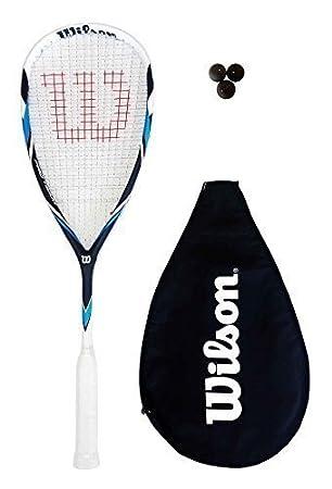 Amazon.com: Wilson Pro Team Raqueta de squash + elección de ...