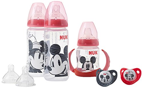 NUK Mickey and Minnie Babyflaschen-Set