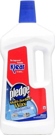 Pledge Klear Multi Surface Wax 750ml