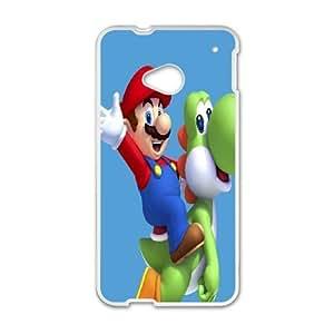 HTC One M7 Phone Case White Super Mario Bros IH4500621