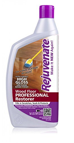 Rejuvenate RJ32PROFG Professional High Gloss Wood Floor Restorer, 32-Ounce 2-Pack