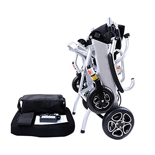 Lightest Foldable Power Electric Wheelchair for Children and Elderly Care