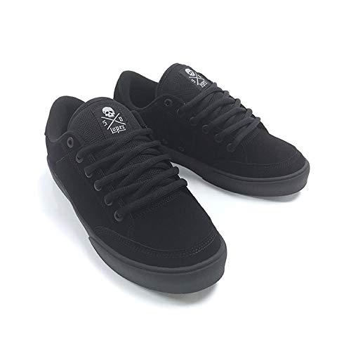 - C1RCA Skateboard Shoes Lopez AL50 Black/Black/Synthetic Size 10.5