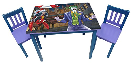 O'Kids Batman Penguin Wooden Table and Chair Set ()